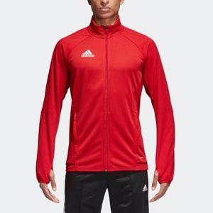 adidas TIRO 17 Red Training Jacket Men's 3XL